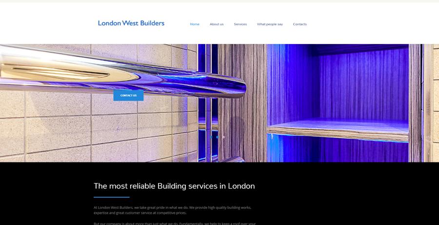 London west builders