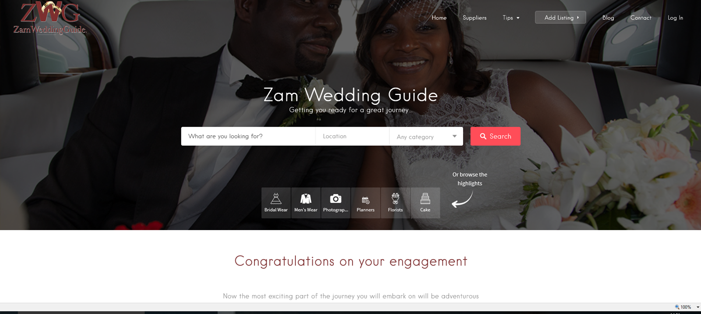 zam wedding guide